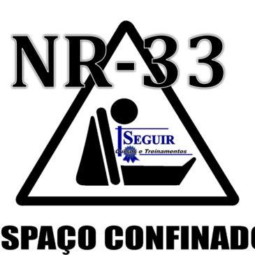 NR 33 – ESPAÇOS CONFINADOS